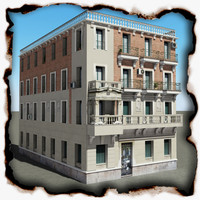 3d building 54