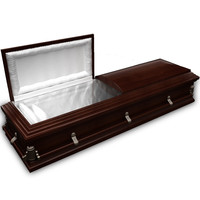 High Def Classic Coffin Wood Victorian