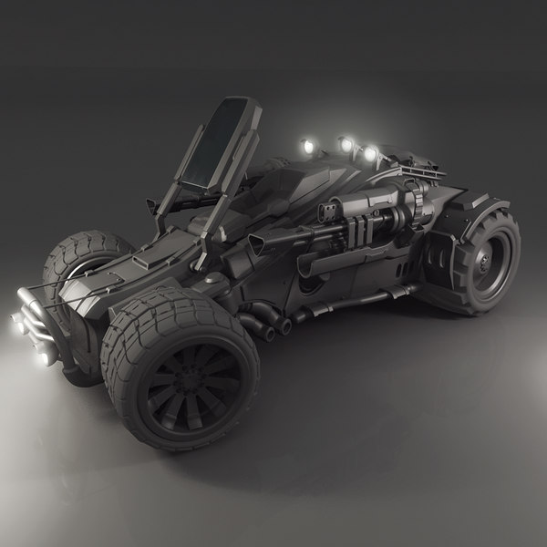 vehicle jeep 3d model - Jeep... by Infected_Mind