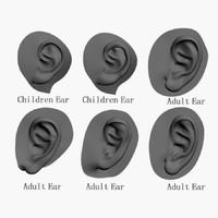 3dsmax sample ears
