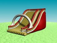 3d inflatable slide model
