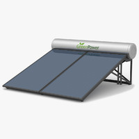 Solar Water Panels Large