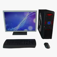 3d model computer pc