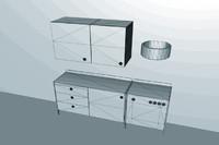 3dsmax kitchen