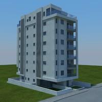 3d buildings 1 model
