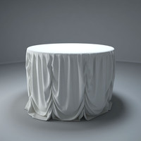 dining tables 3d obj