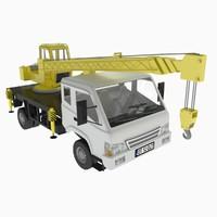 10t Mini Crane Truck