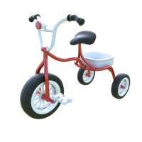 3d kid bicycle model