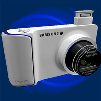 3d model samsung galaxy camera gc100