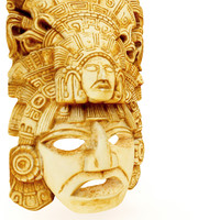 Aztec mask replica 4