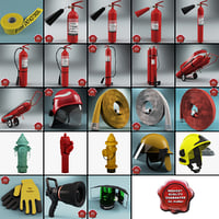 Fire Fighting Equipment Collection
