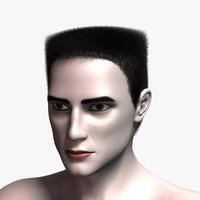 3d model john hair