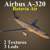 airbus btv 3d model