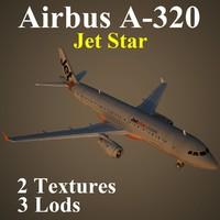 airbus jsa 3d model
