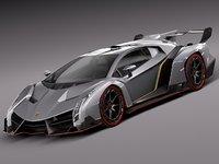 3d model 2013 2014 sport lamborghini