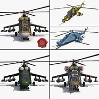 Mi Rigged Helicopters Collection