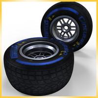 2013 F1 Pirelli tire Wet