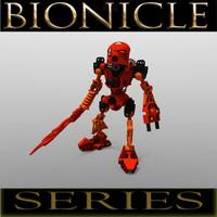 3d lego bionicle tahu -