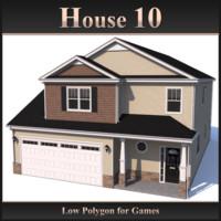 3d model house 10