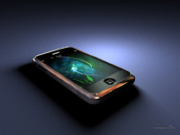 3d model apple iphone 1