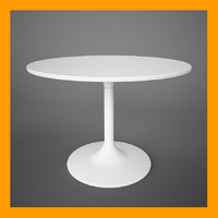 3d docksta table model