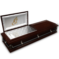 3d 3ds coffin wood