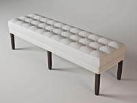 eichholtz bench tribeca 3d max