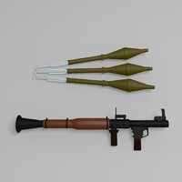 RPG Luncher and Rocket