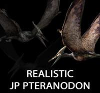 pteranodon jurassic park - 3d model