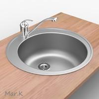 3d model sink tap