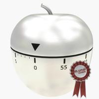 cook timer 3d model