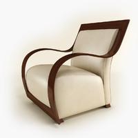 3d armchair egea mobilfresno