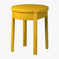 ikea bedside table 3d 3ds