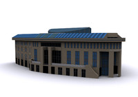 3ds max city building olivendenhof