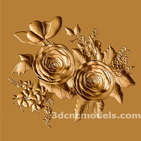 Bas Relief for CNC STL 1101