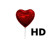 Heart shaped balloon HD HQ