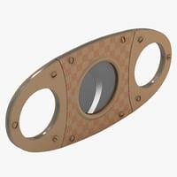 3d cigar cutter 2 model