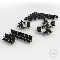 3d seating airport