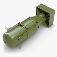 3dsmax little boy atomic bomb