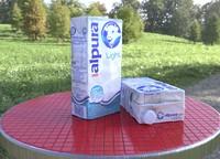 caja leche alpura 3d model