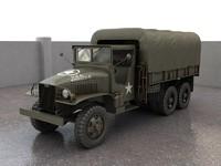 3d model gmc cckw 353