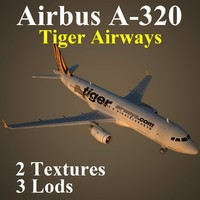 airbus tgw 3d max