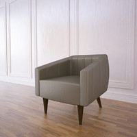 houston armchair 3d model