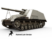 SdKfz 165 Hummel Late version