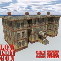 3ds max weathered house games