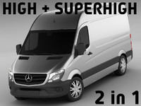 mercedes sprinter super 3d 3ds