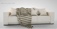Sofa Blanket Set
