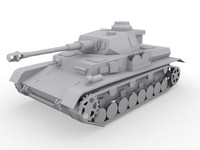 3ds max panzer iv