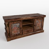 maya antique sideboard
