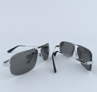 3d glasses sun sunglasses model